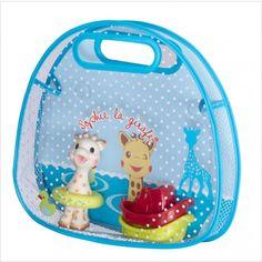 Sophie Bath Set: Bathtime fun with Sophie the Giraffe! #sophielagiraffe #sophiethegiraffe #bathtoys #bathtime #toys