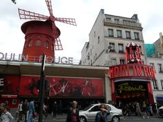 Paris France by Cruise Planners sales@letsvamoose (855) 538-7826 toll free https://www.letsvamoose.com Moulin Rouge  Red Light District