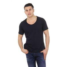 Black XS Diesel mens t-shirt T-FINGAL-R 00S4JA 0R91B 900