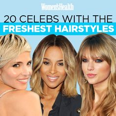 20 Celebs With The Freshest Hairstyles