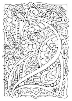 Superb Abstract Coloring Books
