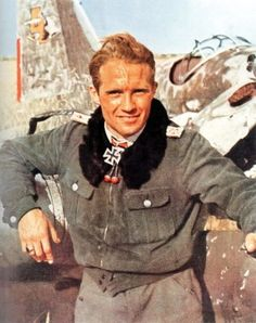 Ace Luftwaffe fighter pilot Franz Xaver, Baron von Werra, an impoverished Baron…