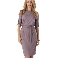 붕대 여성 드레스 새로운 브랜드 플러스 사이즈 파티 클럽 드레스 라운드 넥 무릎 길이 사무실 빈티지 드레스