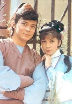 Felix Wong Yat Wah as Kwok Ching & Barbara Yung Mei Ling as Wong Yung in The Legend of the Condor Heroes Hong Kong Movie, Good Old Times, Now And Then Movie, Drama Series, Dramas, Movie Tv, It Cast, Hero, Entertaining