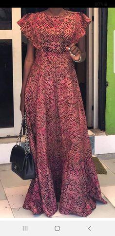 Yellow African print top for women - luckky African Fashion Ankara, Latest African Fashion Dresses, African Print Fashion, Ghana Fashion, Long African Dresses, African Print Dresses, Ankara Mode, Ankara Dress Styles, Nigerian Ankara Styles