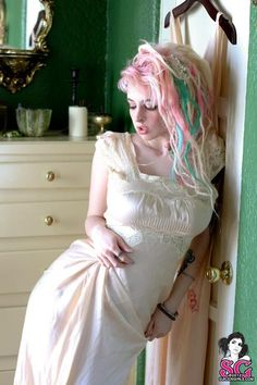 I think this might be a fall but I love the pastel dreads so much! Very pretty.