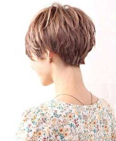 Stylist back view short pixie haircut hairstyle ideas 42