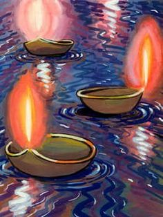 Diwali Homemade Greeting Cards Ideas_08