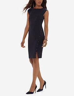 The Limited Studded Sheath Dress