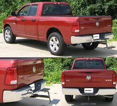 One of many awesome accessories for the Dodge Ram Pickup - Hitch Stair with 2 steps for Trailer Hitches! Adjustable length from hitch. Dodge Ram Pickup, Bed Mats, 2 Step, Trailer Hitch, Stairs, Awesome, Accessories, Stairway, Staircases
