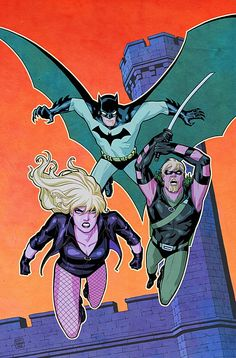 Batman, Black Canary  Green Arrow by Cliff Chiang