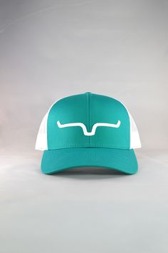 f72e44015b0cd Weekly Trucker - Teal White — Kimes Ranch Rodeo Outfits