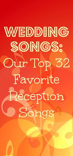 The best reception songs, and they're categorized by genre, which is super helpful! Check out the Country Lovers section!!