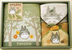 Towel Set Baby Gift Set of My Neighbor Totoro Studio Ghibli Japan Brand New #NeighborTotoro