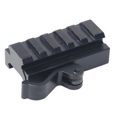 Tactical Rifle Scope Rail Mount Quick Release Adapter Offset Extension Sight High Profile See Through Base Converter for Red Dot