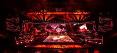 "Festival ""Alina on Behance Visual Lighting, Stage Lighting Design, Stage Set Design, Theatre Design, Stage Background, Textured Background, Paper Background, Cv Web, Wordpress Website Builder"