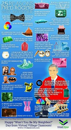 Reasons Fred Rogers is awesome