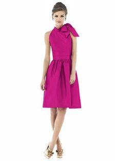 Alfred Sung Italian Plum D534 Dress