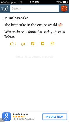 There is Tobias