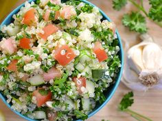 Quinoa Tabbouleh - Two Great Sources Of Protein And So Yummy!