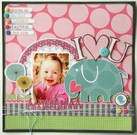 A Project by Jana Eubank from our Scrapbooking Gallery originally submitted 07/29/10 at 04:21 PM
