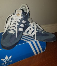 huge discount ca9f4 5b87f Suede Adidas Dragons Track Shoes. Classic 70s80s Look.