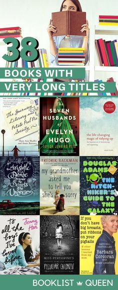 If you are looking for books with more than five words in the title for a reading challenge or just curious about books with long titles, check out this long list of books with long titles.