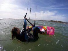 Kitesurfing Kitesurfing, Portugal, Boat, School, Lakes, Dinghy, Boats, Schools, Ship