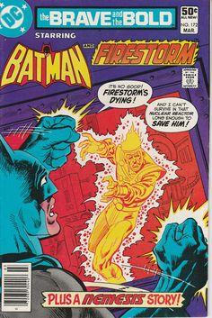 Brave & the Bold Vol. 27 No. 172  1981  Batman and Firestorm by TheSamAntics