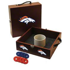 Denver Broncos Washer Toss Game. Want. Need. Love. Perfrect for those warm summer nights :)