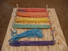 Self-Striping Yarn (with a Warping Board) Tutorial - FIBER ARTS