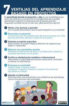 7 Ventajas del ABP - Infografía