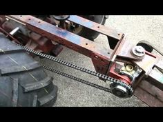 Project bendy 4x4 Wheel Horse test - YouTube Small Tractors, Compact Tractors, Agriculture Machine, Homemade Tractor, 4x4 Wheels, Trike Bicycle, Custom Metal Fabrication, Tractor Implements, Racing Wheel