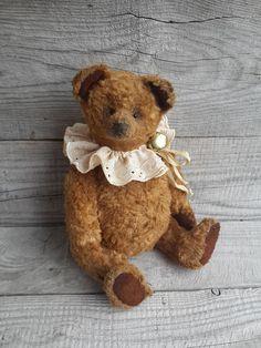 OOAK Teddy bear Bono Artist teddy Classic Style plush teddy