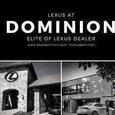 Experience the difference. Experience Lexus at Dominion. #northparklexusatdominion #lexusdominion #lexuslife #eliteoflexus #nplexusdominion #lexus #loveit #boernelexus #lexuslifestyle #lexusfamily #salexus #experienceamazing #sanantonio