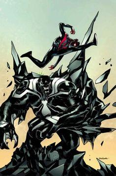 Spider-Man:Miles Morales V.S. Venom:Space Knight