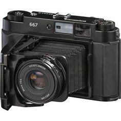 Voigtlander Bessa III Rangefinder Folding Camera (Black)