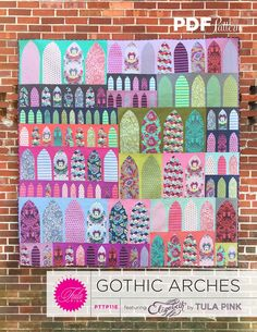 Tula Pink — Gothic Arches - PDF Pattern