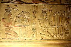 Templo de Sethi I en Abidos , segunda sala hipóstila , par…   Flickr