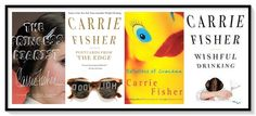 Carrie Fisher. La princesa, la guionista y la escritora. - http://www.actualidadliteratura.com/carrie-fisher-la-princesa-la-escritora/