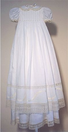 29eac08ae Tulip Sue Pennington pattern Lace Christening Gowns, Baptism Gown, Baptism  Outfit, Christening Outfit