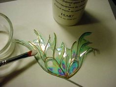 Angelina Film Fairy Wings | How to make fantasy film fairy wings, by Artisan Deb Wood by mae