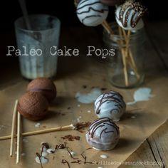 Paleo Cake Pops using almond flour  http://civilizedcavemancooking.com/grain-free-goodies/paleo-cake-pops/