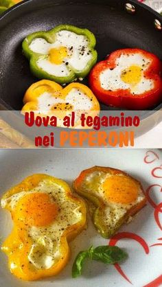 Uova fritte al pepe - Italiano Newest Hair Design Healthy Deserts, Healthy Recipes, Healthy Food, Food Decoration, Antipasto, International Recipes, Creative Food, Finger Foods, Italian Recipes