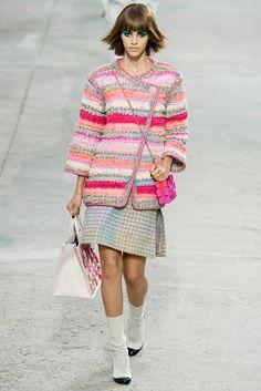 Chanel Spring 2014 Ready-to-Wear Fashion Show - Pauline Hoarau (Elite)