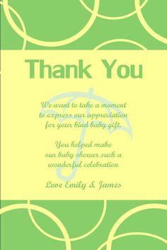 cutiebabes.com baby shower thank yous (31) #babyshower