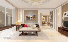 Thiết kế nội thất biệt thự Ciputra phong cách đẹp ấn tượng