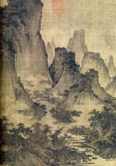fan kuan | Huang Gongwang, Dwelling in the Fuchun Mountains , Yuan Dynasty, 1347 ...