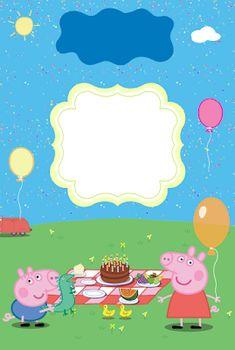 Noa, nire urtebetetzera gonbidatzen zaituztet. Maiatzaren 17an arratsaldeko 5.00etan eta kasinon izanen da Peppa Pig Happy Birthday, Peppa Pig Birthday Invitations, Pig Birthday Cakes, George Pig Cake, Peppa E George, Invitacion Peppa Pig, Cumple Peppa Pig, Peppa Pig Gratis, Peppa Pig Party Supplies