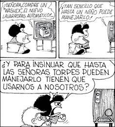 Mafalda, 50 años de feminismo en 18 viñetas | Verne EL PAÍS Lucky Luke, That 70s Show, Humor Grafico, Sarcastic Quotes, Amazing Adventures, Funny Comics, Introvert, Comic Strips, Memes